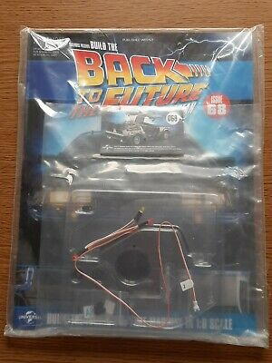 Eaglemoss Build The Back to the Future Delorean Magazine /& Parts Issue 68  New