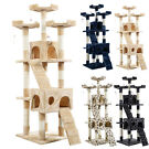 "66"" Cat Tree Tower Condo Pet House"