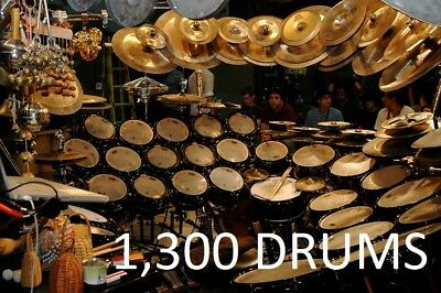 Live 2 Drum Sounds Kit Acoustic Percussion Ethnic World Samples African  Asian | eBay