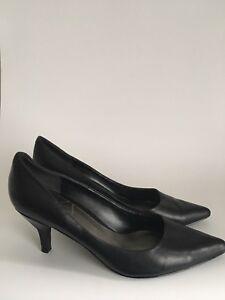 Nine West Damenschuhe court schuhe pointed Toe high stiletto high Toe heel Größe 8 ... 2d5fd2