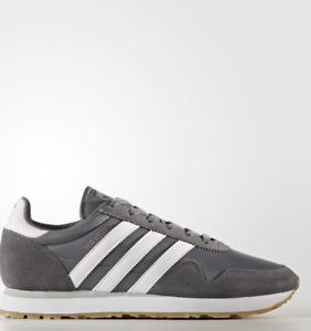 d3df4532f581 Adidas Haven Unisex Original GREY   WHITE   BROWN BY9715 Size 4-11 ...
