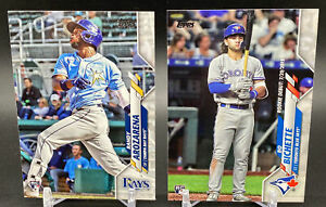 2020 Topps Update MLB Baseball Bo Bichette & Randy Arozarena Rookie Lot of 2