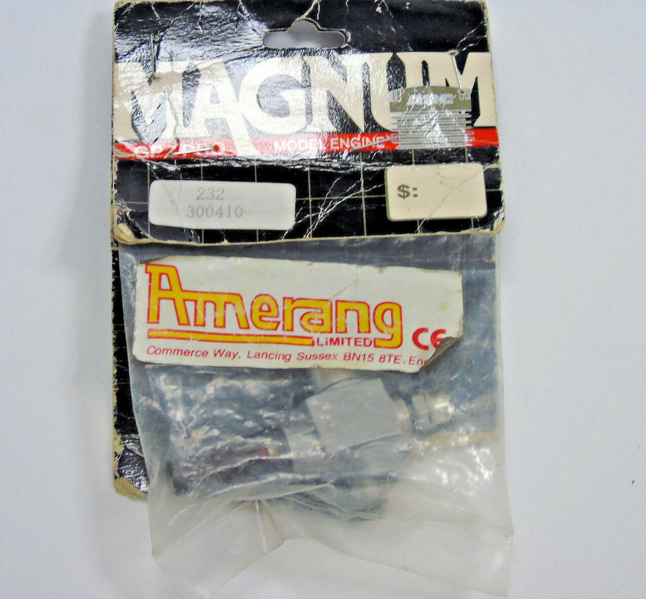 300410 Magnum 232 Go/Pro Très Carburateur Carb Corps Très Go/Pro Rare Neuf Dans Paquet a69845