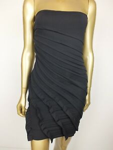 f7df123377 Image is loading KOOKAI-DRESS-BODYCON-BLACK-TANK-STRAPLESS-MINI-BANDAGE-