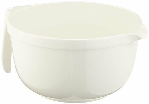 white 4.0 litres Emsa 2249401204 Superline mixing bowl with pouring handle