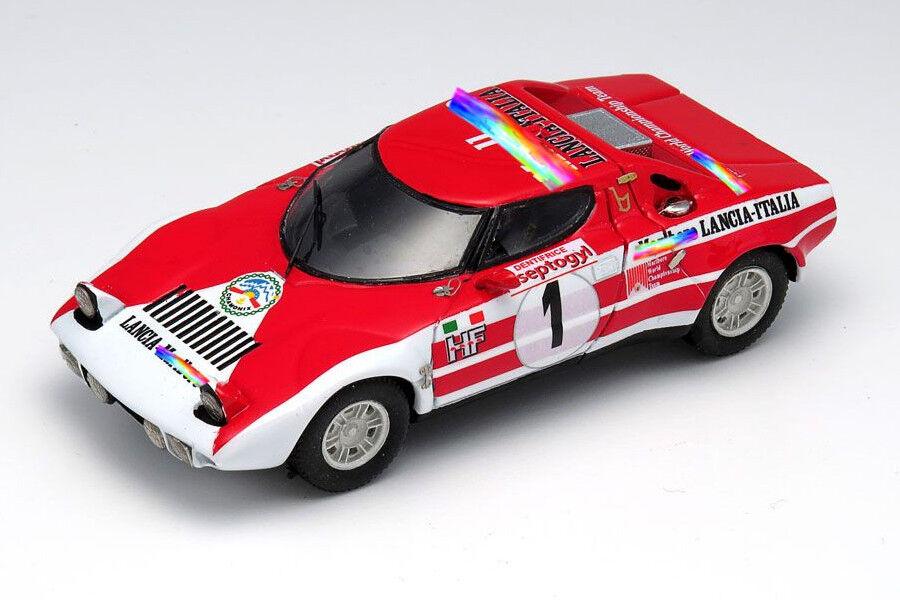 <kit Lancia Stratos  1 Munari-Andruet Chamonix 1974 - Arena Models kit 1/43