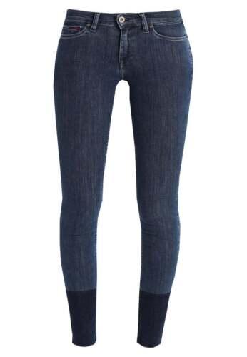 Damen Coupe L28 L32 Nora Denim Skinny Tuyau Jeans A4195 Hilfiger Wamen Yx7PB