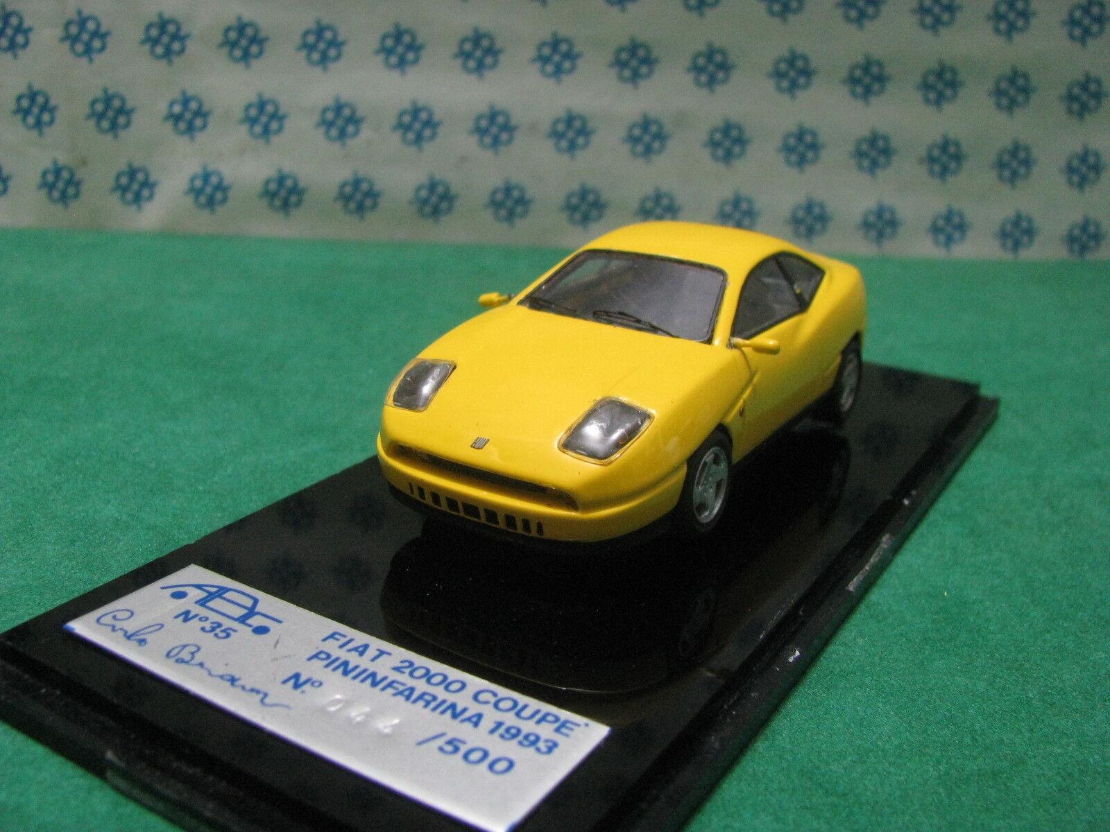 Vintage FIAT  2000 Coupè Pinin farina 1993 1/43 ABC Brianza n°35   Outlet Online Store    Mode Attrayant    Nouveau Produit