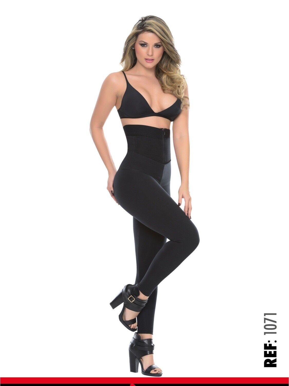 BON BON UP Women's Leggings  W internal Body Shaper butt lifter Levantacola FAJA