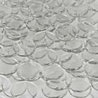 Craft Clear Large Mosaic Glass Gems Pebble Marbles Wafers Tiles Vase Filler, 3lb