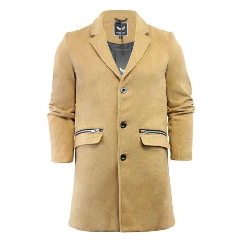 Jacket Soul Mens Coat Mix Brave Wool Long Overcoat Camel Mill pIdxx8qnf