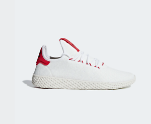 Details about SCARPE ADIDAS ORIGINALS PHARRELL WILLIAMS PT TENNIS HU BD7530  UOMO DONNA BIANCO