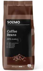 Amazon Brand - Solimo Coffee Beans - UTZ Certified - 2 Kg (2 Packs X 1Kg)