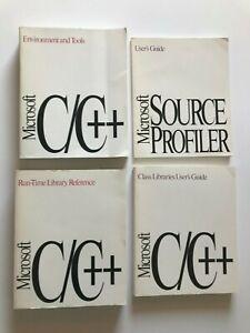 Microsoft C/C++ & Source Profiler User Guide Set 1991