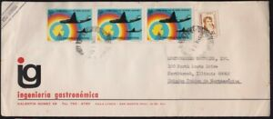 ARGENTINA 1973? COVER to USA @D3638L