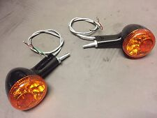 Genuine Harley Davidson LED rear light and indicator RUN BRAKE TURN  black pair