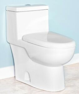 Fiore21058D-Dual-Flush-One-Piece-Elongated-Toilet-w-Soft-Close-Seat-White
