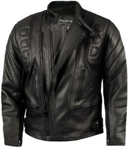 Mens-CE-ARMOURED-LEATHER-Motorcycle-Motorbike-BIKER-JACKET-Black-All-Sizes-NEW
