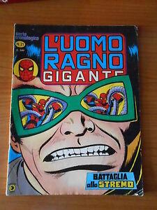 L-039-UOMO-RAGNO-gigante-n-21-serie-cronologica-ed-CORNO-fumetto-super-eroi