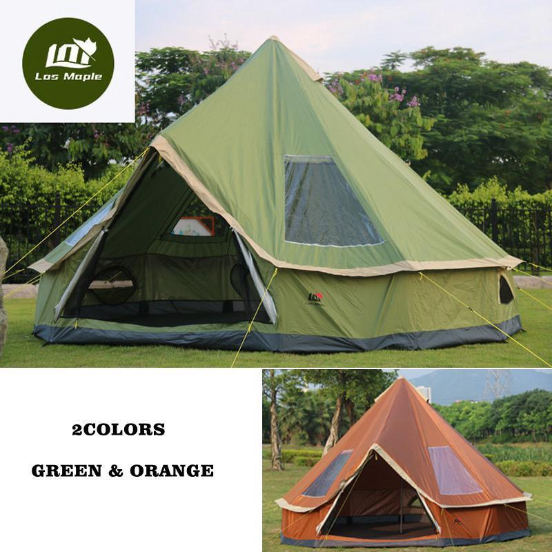 Glamping Camping Tent Travel Hiking Anti Mosquito Sun  Shelter Large Family Tent  good reputation