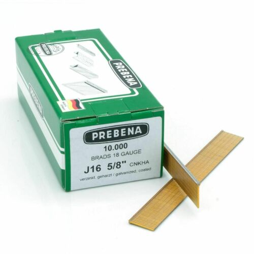 PREBENA J Stifte CNKHA verzinkt geharzte Stauchkopfnägel für Druckluftnagler