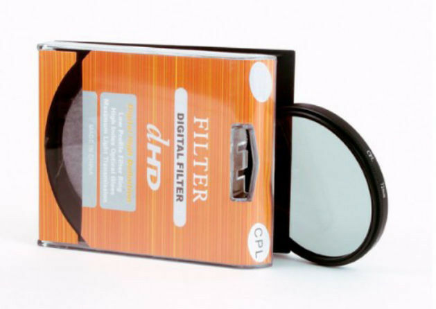 77mm New Circular Polarizing C-PL PL-CIR CPL Filter For Nikon Canon Camera DSLR