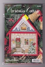 counted cross stitch  kit              Christmas Cottage        Bucilla