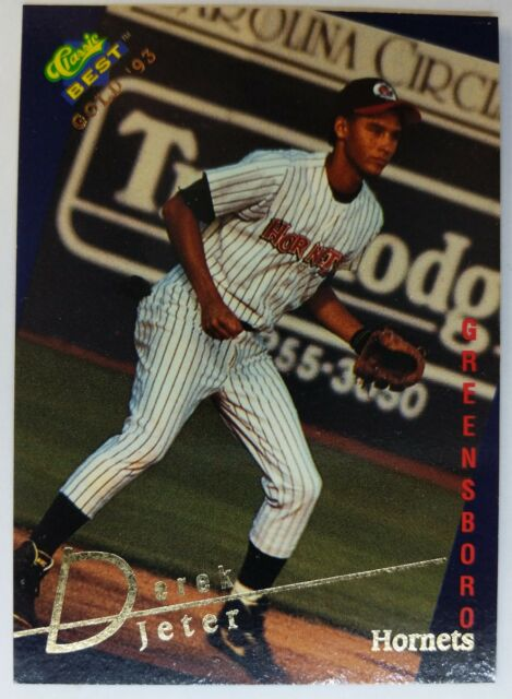 1993 93 Classic Best Gold Derek Jeter Rookie Rc 115 Hornets New York Yankees