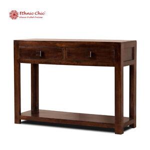 Mobile consolle etnica vintage coloniale mobili etnici ingresso console legno ebay - Mobili ingresso legno ...