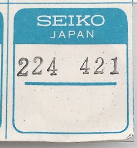 NOS-New-1-PC-Seiko-Parts-224-421-Part-Spare-Replacement-224421-Original-Japan