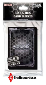 ♦ 50 cards protectors//pouches small dark hex card sleeves ♦ yu-gi-oh