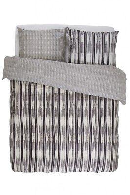 Bettwäsche Essenza Bettwäsche Berber Streifen Satin Anthrazit Grau Weiß Um Der Bequemlichkeit Des Volkes Zu Entsprechen Bettwäschegarnituren
