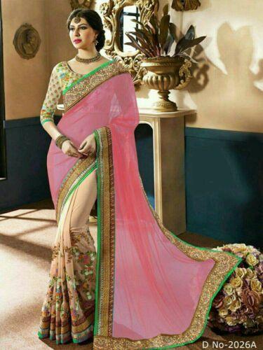Heavy Bridal Bollywood New Indian Sari Designer Party Wear Wedding Ethnic Saree