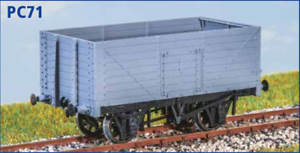 OO gauge 8 Planks Coal Wagon 12ton RCH 1923 free post Parkside PC71