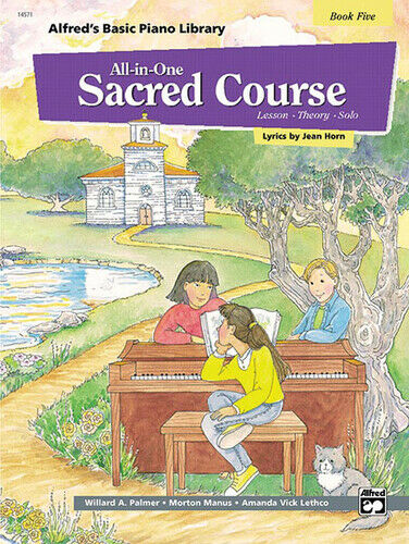 Alfred's Basic All-in-One Sacred Course, Book 5 Piano Book 14571