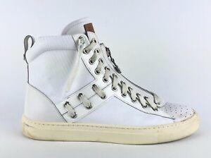 Bally Hekem 207 High Top White Leather
