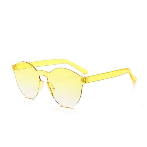 Frauen Männer Mode Klar Retro Sonnenbrillen Outdoor Rahmenlose Brillen Geschenk