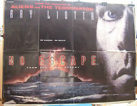 Ray Liotta NO ESCAPE(From the penal colony!)(1994) Original movie poster