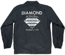 Diamond Supply Co Skateboard Fastening Device Coach Jacket Black Medium Mens
