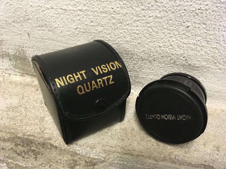 Linse, Night wision quartz, Fiskeørnen med mad markro