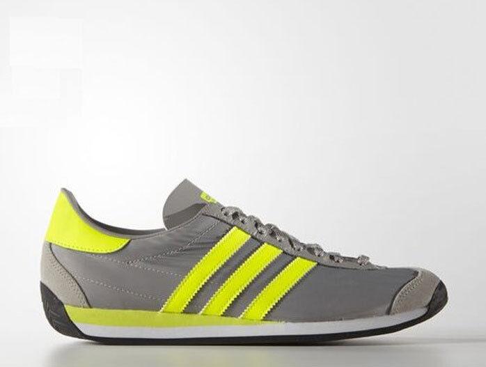 Vintage ADIDAS ORIGINALS COUNTRY Para hombres Zapatos TRANINER S79104 Cuero