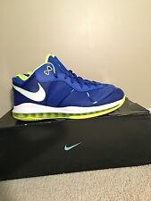 Nike Lebron 8 Low V/2 Sprite Men's Size 12