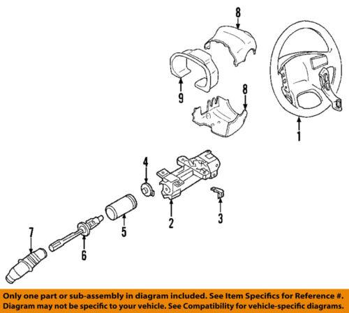 GM OEM Steering Column-Angle Position Sensor 15231652