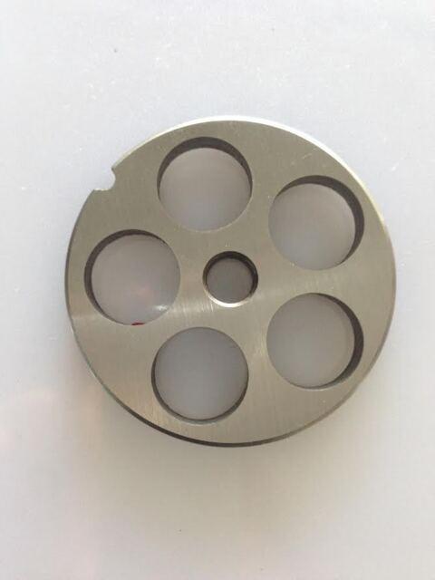 Reber Placa TC 12 Diámetro 20mm Acero para Picadora de Carne Eléctrico Mshop