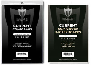 100-Premium-Current-Modern-Comic-Book-Bags-and-Boards-Sleeves-Max-Archival