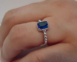 BEADED-SHANK-SQUARE-CENTER-RING-W-2-CT-TANZANITE-925-STERLING-SILVER-SZ-5-9