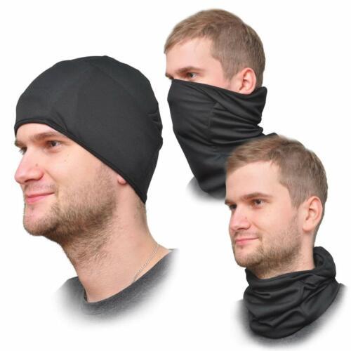 Winter Tactical Windproof Ski Hats Balaclava Full Face Mask for Men Women Black