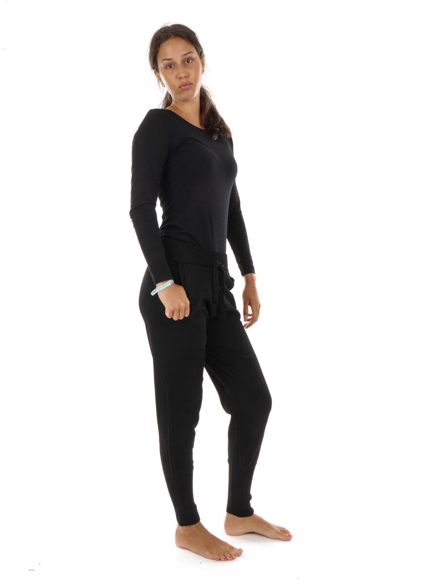 O 'Neill Pantaloni Casual Pantaloni Tessuto Nero Knitted Jogger coulisse coulisse coulisse interna 2970fc
