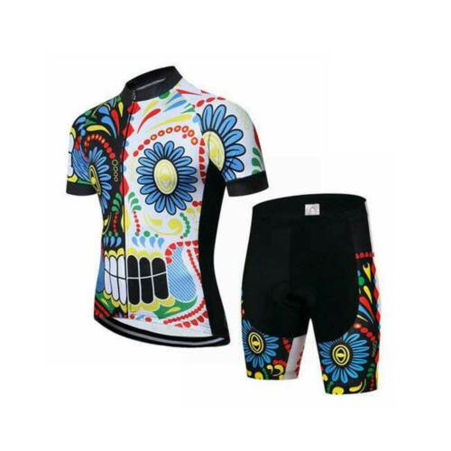 Bib Shorts Kit 2019 Men/'s Cycling Clothing Novelty Cycle Jersey Top and Padded