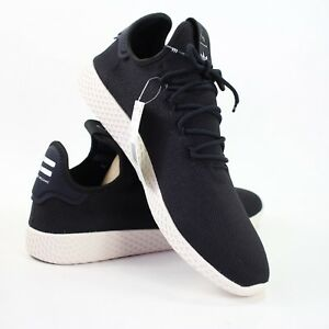 b1f8cf5dcd69b Adidas Pharrell Williams Mens size 13 Black White PW Tennis HU Shoes ...